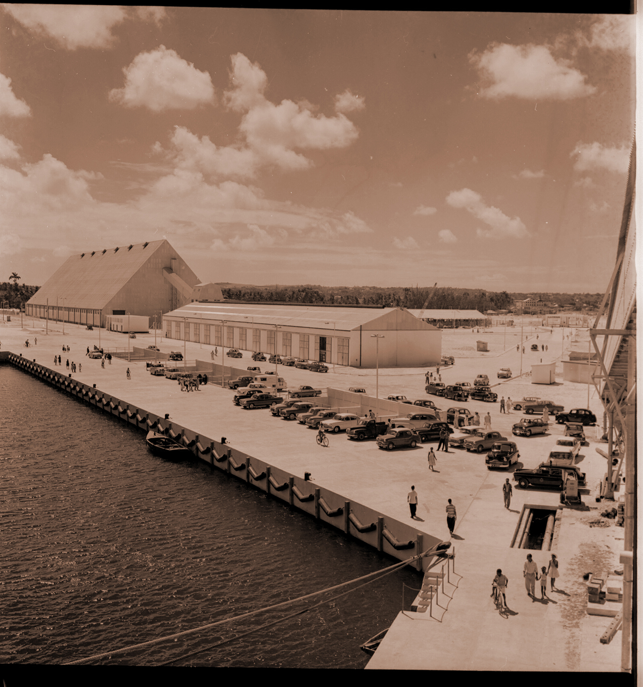 Port Building in the 60s